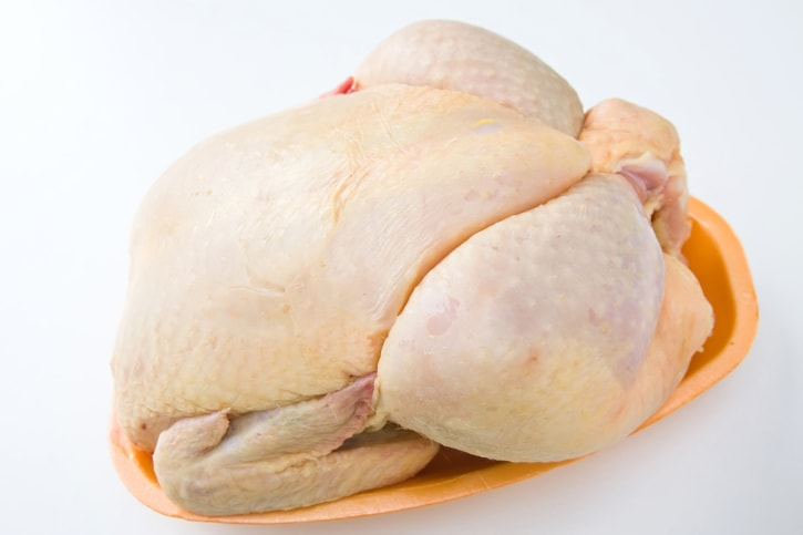 Skinned Chicken