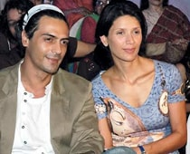 Arjun Rampal and wife Meher are furious