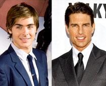When Tom Cruise gave Zac Efron a bike lesson