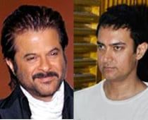 Anil, Aamir get nostalgic at Double Dhamaal launch