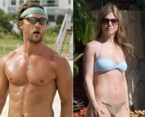 Aniston, McConaughey named best beach bodies