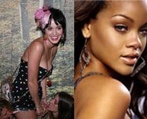 Rihanna, Katy Perry party in strip club