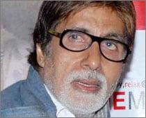 A sleepless night for Big B after Diwali