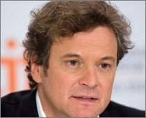 Colin Firth lost his voice in youth