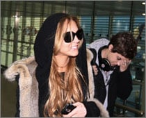 Lindsay Lohan visited by ex-girlfriend