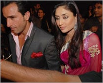 Kareena-Saif leave for an eco-friendly trip to Switzerland