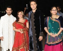 Aamir has set no date for Imran's reception
