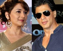SRK, Madhuri Together Again at Filmfare