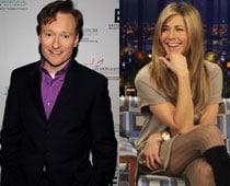 Conan O'Brien walks in on naked Jennifer Aniston