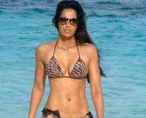 Padma Lakshmi is back in bikini shape