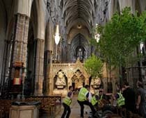 Westminster Abbey Gears Up For Wedding Rehearsal