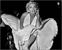 Marilyn Monroe's Iconic White Dress For $2mln