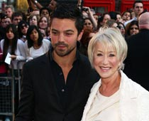 Dominic Cooper tried to woo Helen Mirren