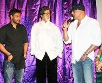 Amitabh unveils first look of Sanjay Dutt's Rascals