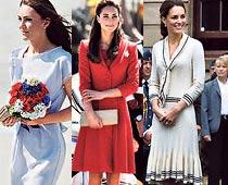 Kate on International Best-Dressed List