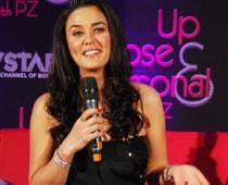 Preity Zinta scared of talking to men