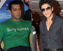 Crew ensures Salman, SRK never crossed paths