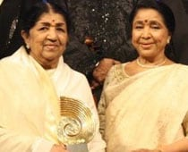 Lata Mangeshkar wishes Asha Bhosle on her birthday