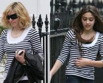 Madonna let daughter pick dancers for tour