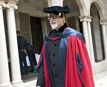 Big B awarded honorary doctorate by Australian univ