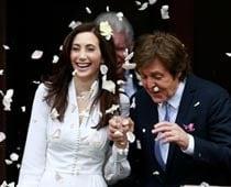 Sir Paul McCartney gets married in London