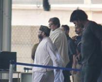 Amar Singh visits Bachchans at Seven Hills