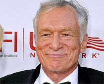 Hugh Hefner loves to watch classic movies