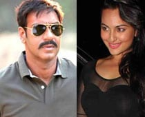 Ajay and Sonakshi create chaos in Chandigarh