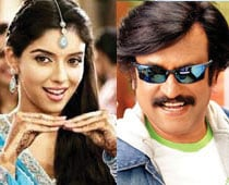 Asin wants to act with Rajinikanth