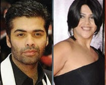Ekta Kapoor, Karan Johar to co-produce film