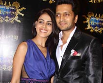 Pre-wedding bash for Riteish and Genelia