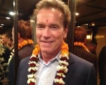 Which are Delhi's good restaurants, asks Schwarzenegger