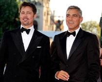 George Clooney, Brad Pitt raise $2million for gay rights