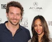Bradley Cooper, Zoe Saldana are over already