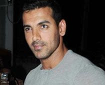 John Abraham breaks a bone