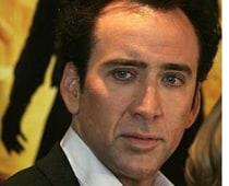 A movie on Nicolas Cage's comic-book heist
