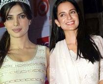 Priyanka Chopra bonds with Kangana Ranaut