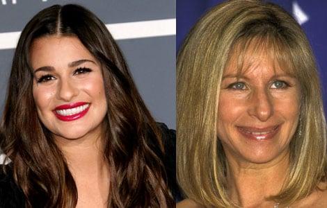 Lea Michele to celebrate Barbra Streisand's birthday