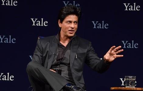 SRK's speech at Yale University