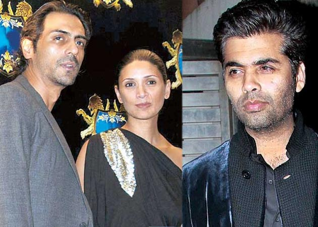 Arjun Rampal doesn't have time for KJo?