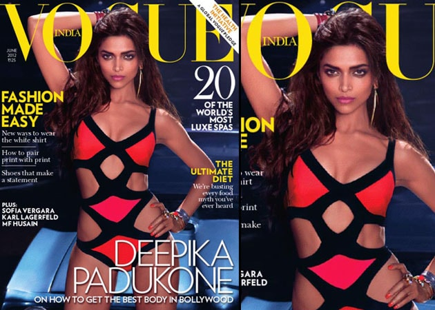 Deepika Padukone dons racy swimsuit for Vogue cover