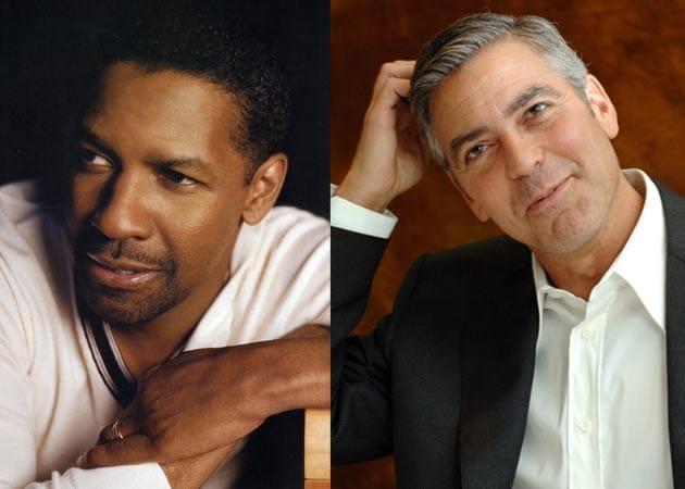 Clooney, Denzel named sexiest men over 50