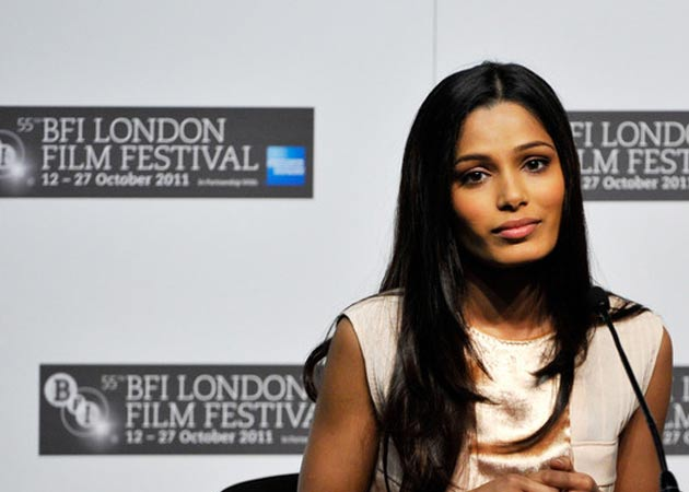 "Fame was ""almost too much"", says Freida Pinto"