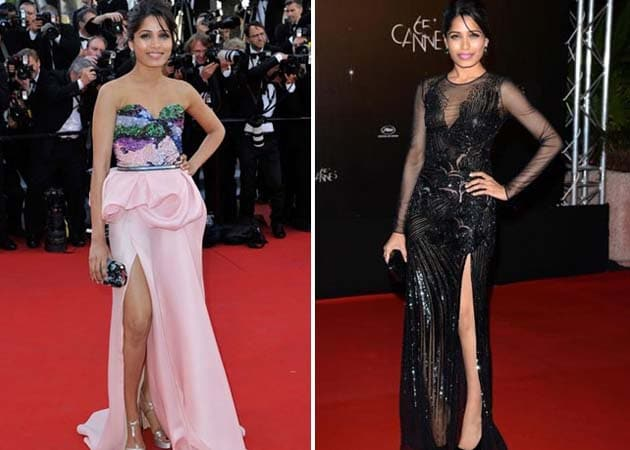 Freida Pinto emerges as red carpet diva at Cannes