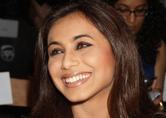 Miss Perfectionist, Rani Mukerji