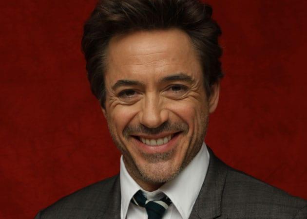 Robert Downey Jr 2012 Baby