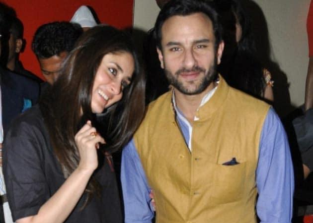 Saif, Kareena to wed in October?