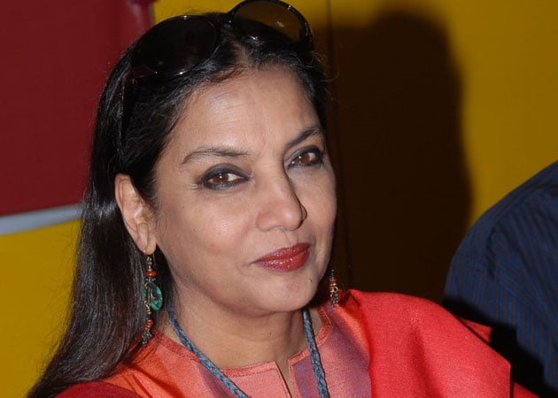 Item numbers must be situational, says Shabana Azmi