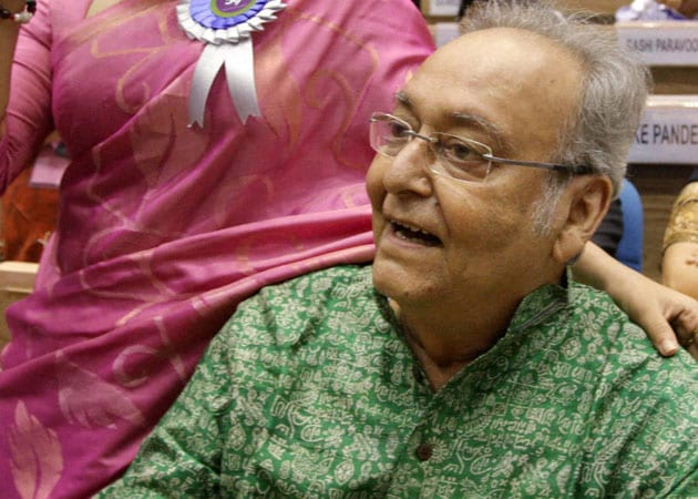 Why would I have gone to Mumbai? asks Soumitra Chatterjee