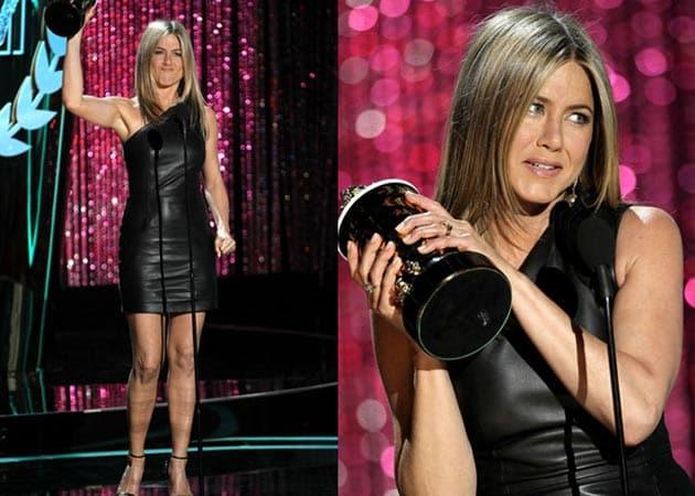 Jennifer Aniston crowned dirtbag at MTV Movie Awards